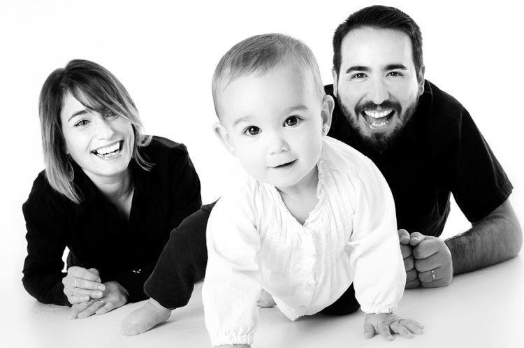 Padres presentes-hijos felices
